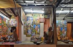 Gangasagar Mela 2015..... Naga Patti Huts (pallab seth) Tags: portrait india festival religious nikon religion culture ritual priest tradition custom hindu hinduism bengal pilgrimage pilgrim ganga mela sagar wideanglelens 2015 nagasadhu gangasagar gangasagarmela samyang14mmf28edasifumc samyang14mmf28ifedumclens