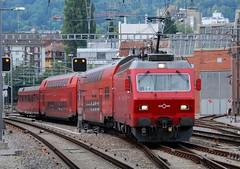 Zürich Giesshübel 17.09.2011 (The STB) Tags: zürich s4 szu giesshübel sihltalbahn re456 re547 sihltalzürichuetlibergbahnszuag