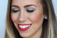 Red Lips & Gray Smoky Eye | Valentine's Day Makeup on #LivingAfterMidnite (jackiegiardina) Tags: red makeup valentine valentines redlipstick cosmetics livingaftermidnight livingaftermidnite jackiegiardina