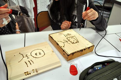 e-Atelier de dessin et de pyrogravure©l-Moriceau