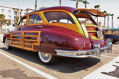 14th Annual Huntington Beachcruisers Meet (USautos98) Tags: 1948 station sedan woody packard woodie