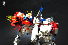 BG-011B Build Burning Gundam 2 (Commander626) Tags: robot lego hard suit burning fighters try build combat gundam mech