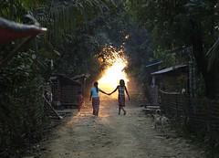 Sunset (jumbokedama) Tags: lovelysunset romanticsunset fantasticsunsets myanmarsunsets mraukusunsets