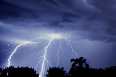 Lightning (Ornella Ricchi) Tags: sky storm nikon heaven lightning d5100