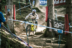 The champ (Andrea Securo) Tags: world terrain mountain cup sports bike danger trek all extreme fast bikes down downhill val dh mtb di sole jumps faster shimano