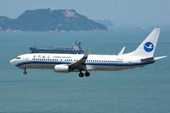 Xiamen Airlines B-5529 (Howard_Pulling) Tags: camera hongkong photo airport nikon photos may picture 2016 howardpulling d5100