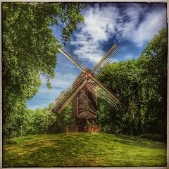 Windmill - Stadtpark Speckenbuttel, Bremerhaven (FotoFling Scotland) Tags: windmill germany deutschland bremerhaven stadtpark speckenbuttel