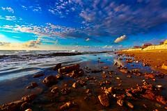 Sea & Sun beach - Tel-Aviv (Lior. L) Tags: sunset sea sky sun beach telaviv brilliant seasunbeachtelaviv