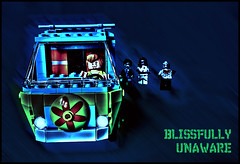 Blissfully unaware... (tim constable) Tags: halloween night dark drive countryside scary funny lego sinister lol character joke famous cartoon humour follow nighttime laugh chase horror scoobydoo monsters shaggy minifig zombies iconic stalking mysterymachine fright chasing unaware frightening livingdead stalked milesaway minifigures blissfully feelingsafe runafter beingfollowed timconstable