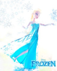 the cold never bothered me anyway (Lokifer Sugar) Tags: frozen doll disney elsa
