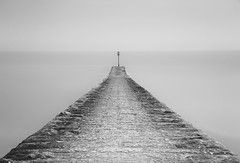 Cleared for take off... (Collingwood505) Tags: longexposure sea water stone clouds outdoor jetty devon silky dawlish 10stopfilter