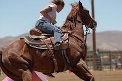 cowgirl tattoo (Tackshots) Tags: california horse tattoo cowgirl applevalley barrelracing nbhaca18