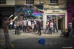 Bubble man ( Explored May 2016 ) (zolaczakl) Tags: bath streetperformer bubble 2016 stallst may uk nikonafsnikkor24120mmf4gedvrlens nikond7100 photographybyjeremyfennell england people streetscenes southwest explored