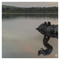 Empty Reflections... (fearghal breathnach) Tags: selfportrait reflection creative doubleexposure emptyboots 52weeksof2016