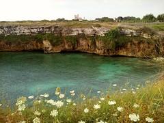 Dolce Riva (Otranto) (Shooting in RAW) Tags: bay mare natura grotta mareadriatico flickrestrellas