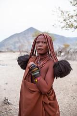Himba Woman 3915 (Ursula in Aus - Away) Tags: otjomazeva namibia himba africa environmentalportrait