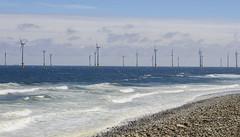 Wind Farm (Preston Ashton) Tags: ocean blue sea sky beach water sunshine sand surf day waves wind farm sunny turbine windfarm prestonashton