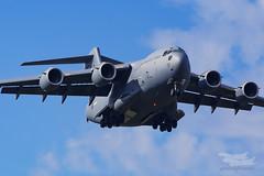 A41-212 RAAF C-17 Terendak Repatriation Richmond-4975 (A u s s i e P o m m) Tags: au australia clarendon newsouthwales c17 raaf ysri