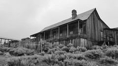 Imposing House (sidxms) Tags: not bodie ghost town goldrush abandoned statepark california samsung galaxy note 4 bnw bw monochrome blackandwhite