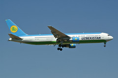 Uzbekistan Airways  Boeing 767-3CB(ER) VP-BUE (Kambui) Tags: airplanes planes boeing uzbekistan fra aviones avions flugzeuge boeing767 767300  avies spotter aeroplani uzbekistanairways kambui  vpbue 7673cber