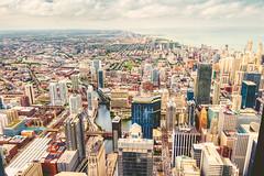 [2043] Chicago (Ojo Torpe) Tags: city usa chicago architecture landscape illinois high cityscape view angle skyscrapper