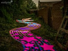 Stars & Stripes (entoptika) Tags: light lightpainting colour stars alley pattern stripes patterns alleyway d750 pixelstick nikond750