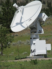 Smaller telescope (jamica1) Tags: canada radio bc okanagan columbia observatory research national council british nrc dominion astrophysical drao