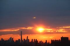 2016May23 (4) (ShellyS) Tags: nyc newyorkcity sunset sky skyline clouds manhattan skylines sunsets