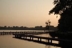 Kralingse Plas (Mone-Photography) Tags: sunset sun lake holland water netherlands dutch zonsondergang rotterdam plas kralingseplas roffa