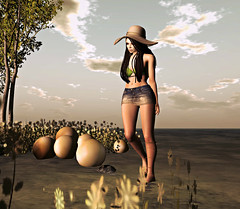 Summers eve. (Ember Adored / Hair SL) Tags: blueberry secondlife friday decoy everlong eventsinsecondlife anlarposes rezology