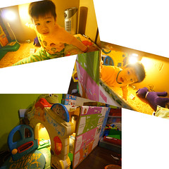 _4Y (YUKI Hsu / nlyuki) Tags: toy diy carton cardboardboxes       4y cartoncastle