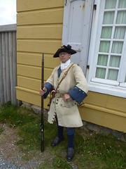 Fortress Louisbourg Nova Scotia re-enactor French infantryman (MisterQque) Tags: novascotia fortresslouisbourg frenchcolony