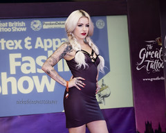 Great British Tattoo Show 2016 (Nick Atkins Photography) Tags: london fashion tattoo lingerie alexandrapalace latex alternative nickatkinsphotography greatbritishtattooshow2016