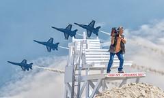 Incoming! (wowography.com) Tags: beach fun photography nikon aircraft military may lifeguard airshow explore myart blueangels 28300mm jonesbeach cameraman newscrew 2016 memorialdayweekend d610 tomreese wowographycom wabcnyc ripcaptainjeffkuss 5001719 5millionviewsthankyou