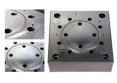 pieza grabado trama (www.omellagrabados.com) Tags: relief laser molde matriz engravings relieve trama grabados grabat gravures inyeccin mecanizado omella