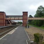 Henley-in-Arden Station - new footbridge thumbnail