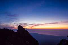 Mount Agung at Sunrise (phlezk) Tags: agung mount volcano gugungagung sunrise sky hiking