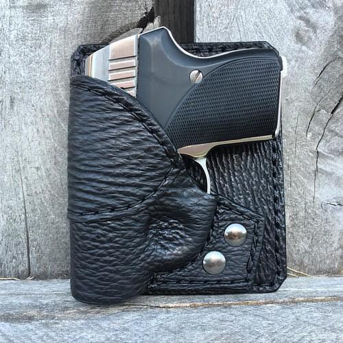Combo Pocket Holster for #Seecamp in Black Shark  www