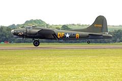 Boeing B-17G Flying Fortress G-BEDF / 124485 Sally B (Andy C's Pics) Tags: b17 duxford boeing flyingfortress imperialwarmuseum iwm sallyb b17g boeingb17 boeingb17gflyingfortress gbedf 124485