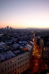 _MG_2312be (Katinka Irrlicht) Tags: vienna wien dawn dmmerung vogelperspektive skyline stadt city abend evening outdoor winter rooves housetops dcher dchermeer view ausblick