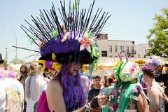 Mermaid Parade 2016 (Samicorn) Tags: nyc newyorkcity costumes summer sunshine brooklyn coneyisland nikon colorful makeup parade wigs gothamist mermaid mermaidparade urchin headdress coneyislandmermaidparade