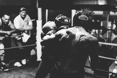 Courage Under Fire (JMJ Cinematics) Tags: blackandwhite sports monochrome sport train training canon fighter action monochromatic boxing fighting fitness gym spar sparring boxeo sportsphotographer jmjcinematics josemiranda
