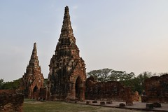 _DSC0348 (lnewman333) Tags: sea river thailand temple seasia southeastasia buddha buddhist unescoworldheritagesite ayuthaya ayutthaya chaophrayariver 1460 watchaiwatthanaram kingprasatthong