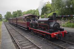 Sir Berkeley (MitchellTurnbull) Tags: house industry june berkeley andrews tank railway steam legends 1210 locomotive 11th sir gala manning 060 tanfield 2016 wardle