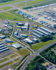 A Slice of Paine Field From the Air Going Southeast to Northwest (AvgeekJoe) Tags: nikon aerial aerialphoto dslr aerialphotography aerialphotograph painefield kpae d5300 nikond5300