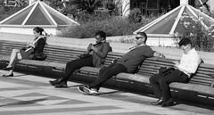Yerba Buena Gardens, June, 2016 (Michael Dunn~!) Tags: sanfrancisco bw streetphotography soma yerbabuenagardens streetfoto photowalking photowalking20160608