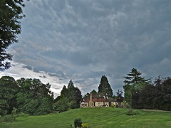 Storm Warning (Deepgreen2009) Tags: sky cloud storm home weather warning garden gardening ominous turbulent