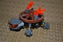 Peter Reids turtle Steamunk varient (21_Bricks) Tags: turtle steampunk lego moc tfol peter reid exo suit brown grey gold animal flame