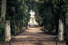 A green tunnel (robertofaccenda.it) Tags: trip travel vacation rome roma church italia iglesia chiesa igreja glise viaggi holydays vacanze lazio villaborghese lacitteterna