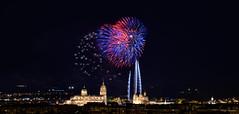 Ama Salamanca (Love Salamanca) - Salamanca (Espaa - Spain) (Victor Hugo Ganoza) Tags: espaa night noche spain nikon cathedral fireworks catedral victor d750 nocturna hugo salamanca fuegos artificiales ganoza nikonfxshowcase